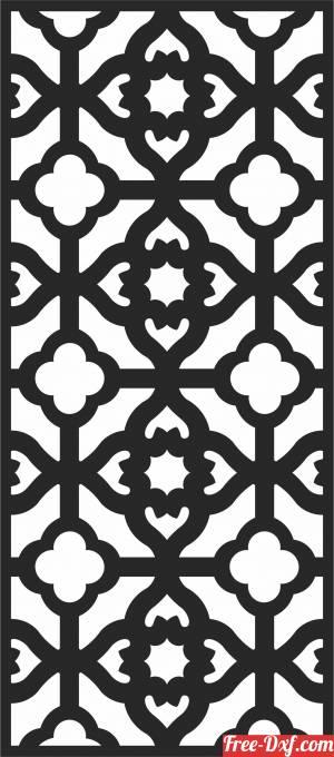 download Decorative   pattern  Door   Decorative   DOOR  DECORATIVE PATTERN free ready for cut