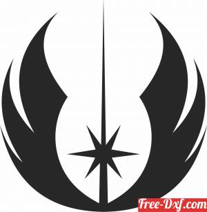 download star wars Schablone free ready for cut