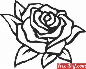 download Roses Floral flowers clipart free ready for cut