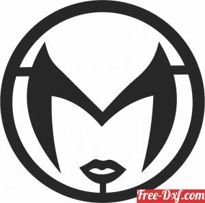 download scarlet witch logo free ready for cut