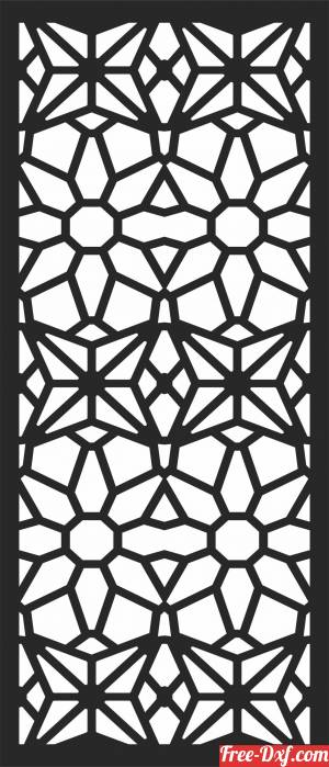 download PATTERN door   DECORATIVE  Screen DECORATIVE free ready for cut