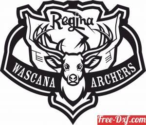 download regina wascana archers logo free ready for cut