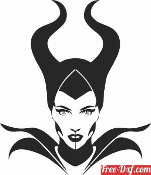 download Dark fairy wall decor free ready for cut