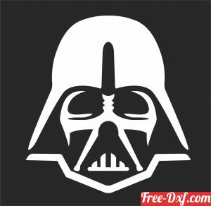download Star Wars Silhouette darth vader clipart free ready for cut