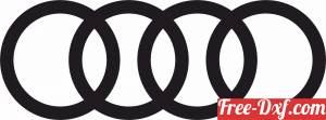 download audi logo free ready for cut