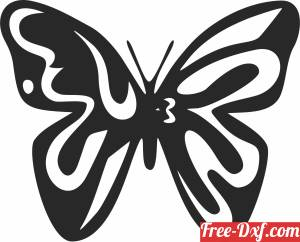 download butterfly wall decor free ready for cut