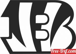 download Cincinnati Bengals American football team logo free ready for cut