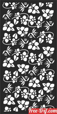 download screen   Wall  DOOR  DECORATIVE pattern DECORATIVE free ready for cut