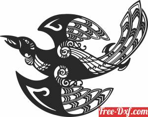 download birds wall decor free ready for cut