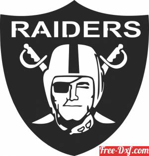 download Raiders LOGO NFL free ready for cut