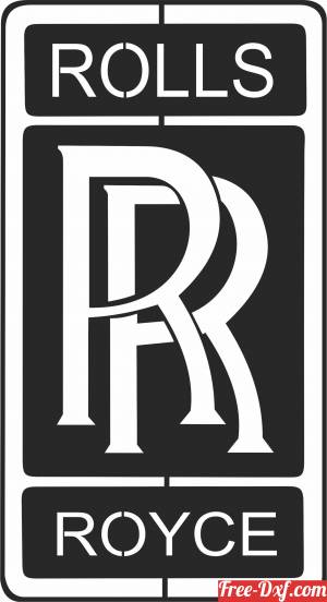 download ROLLS ROYCE  logo free ready for cut