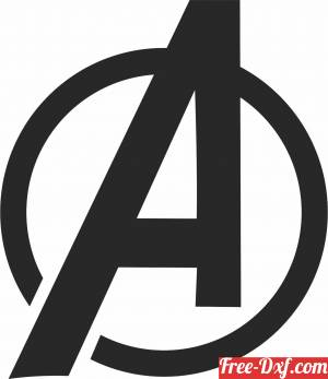 download Avengers logo free ready for cut