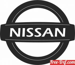 download Nissan logo free ready for cut