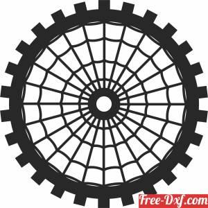 download Mandala screen  DECORATIVE Wall decorative pattern door  Screen free ready for cut