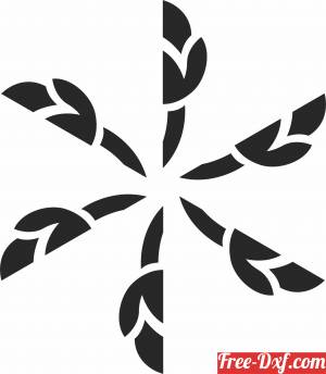 download Decorative Element dxf clipart free ready for cut
