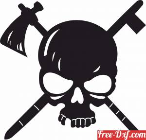 download skull clipart free ready for cut