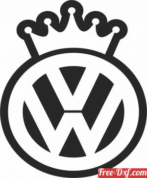 download volkswagen Logo free ready for cut