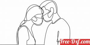 download couple wall decor free ready for cut