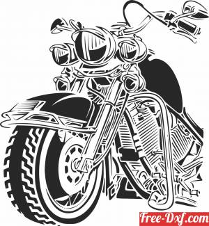 download harley motorcycle bike motor free ready for cut
