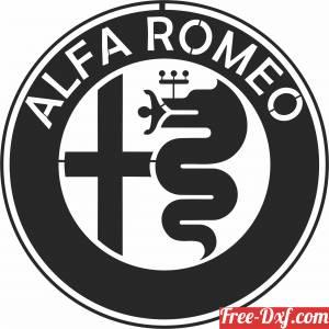download Alfa Romeo  logo free ready for cut