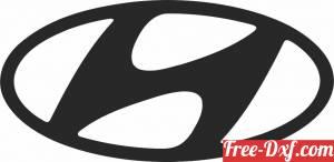 download Hyundai Logo free ready for cut