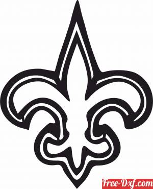 download new orleans saints Nfl  American football free ready for cut