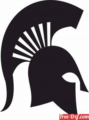download Spartans logo Michigan State University East Lansing free ready for cut
