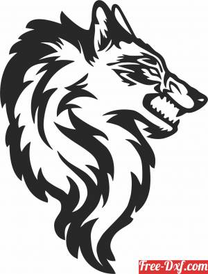 download wolf clipart free ready for cut