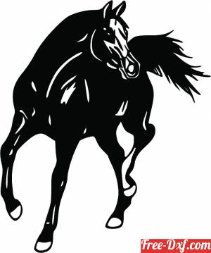 download tennessee walking horse silhouette free ready for cut