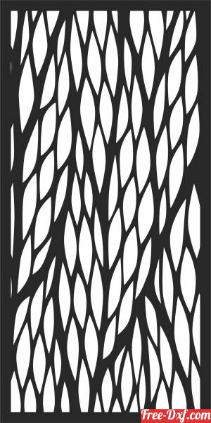 download Pattern DECORATIVE   Door   decorative free ready for cut