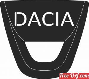download DACIA logo free ready for cut