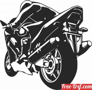 download motorcycle bike motor free ready for cut