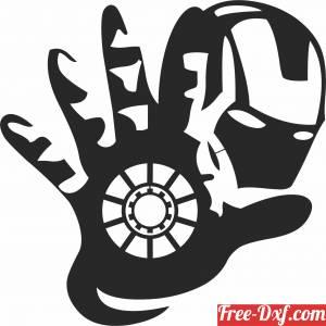 download Iron Man Marvel Avengers Superhero free ready for cut