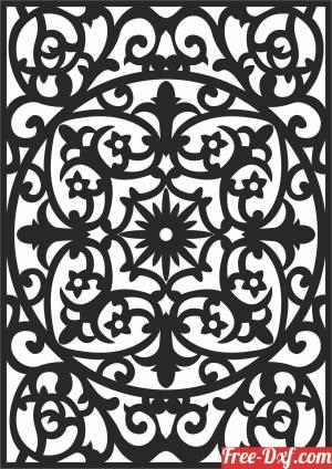download decorative   Pattern Wall  decorative   Pattern WALL Decorative free ready for cut