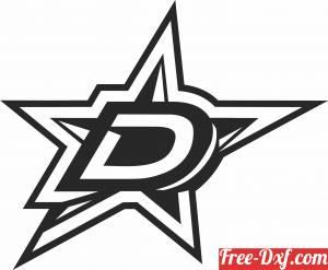 download Dallas Stars ice hockey NHL team logo free ready for cut