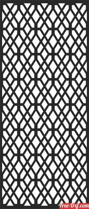 download PATTERN  DECORATIVE  Wall free ready for cut