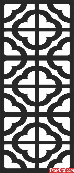download decorative   PATTERN   WALL   decorative  pattern free ready for cut