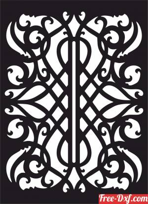 download decorative panel door wall screen free ready for cut