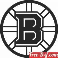 download Boston Bruins ice hockey NHL team logo free ready for cut