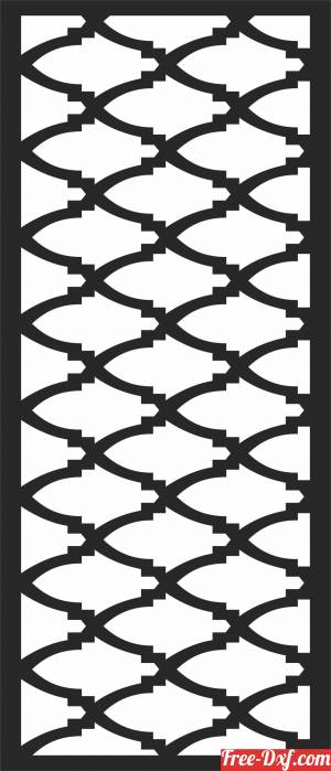 download DOOR   Wall   PATTERN  SCREEN free ready for cut