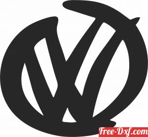 download Volkswagen stylish  clipart free ready for cut