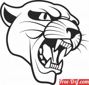 download lion face wall decor free ready for cut