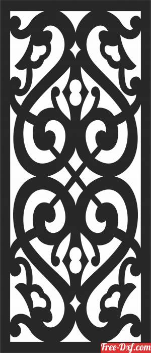 download Wall   DOOR  PATTERN   Door   Decorative free ready for cut