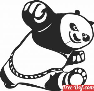 download kung fu panda clipart free ready for cut