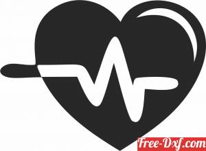 download Medical Symbol heart beats free ready for cut