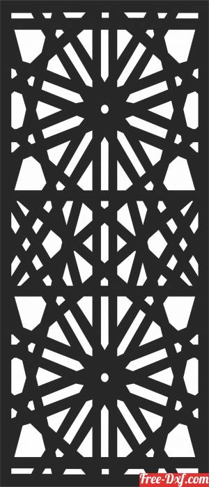 download Pattern   DECORATIVE wall Pattern  SCREEN Screen free ready for cut