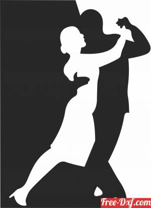 download Tango Dance cliparts free ready for cut