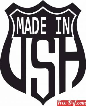download made in USA free ready for cut