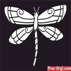 download Butterfly wall art free ready for cut