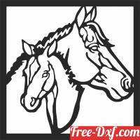 download Horse clipart decor free ready for cut